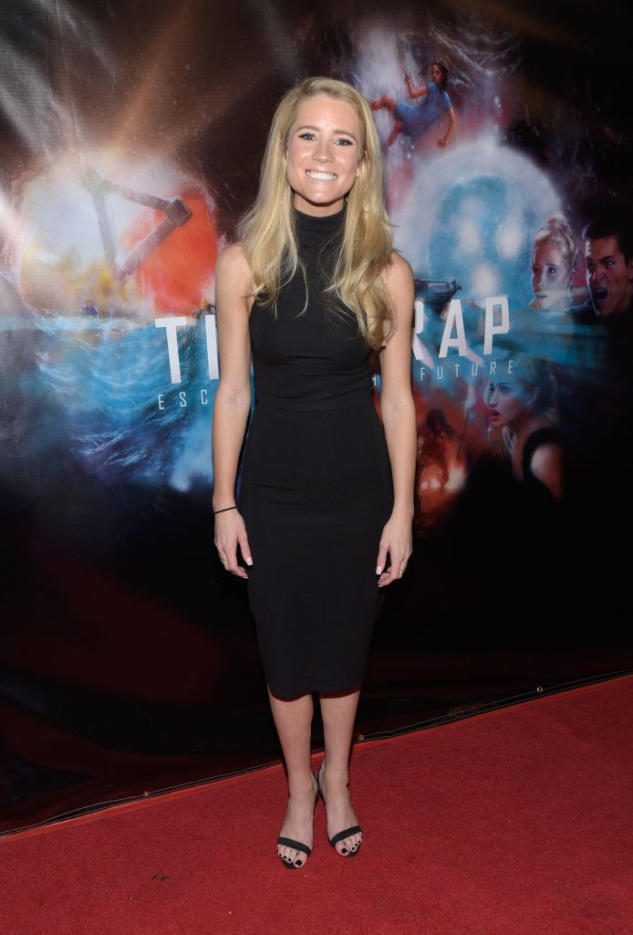"Actress Cassidy Gifford at the premiere of ""Time Trap"" at the Hollywood Film Festival at TCL Chinese 6 Theatres on October 30, 2018 