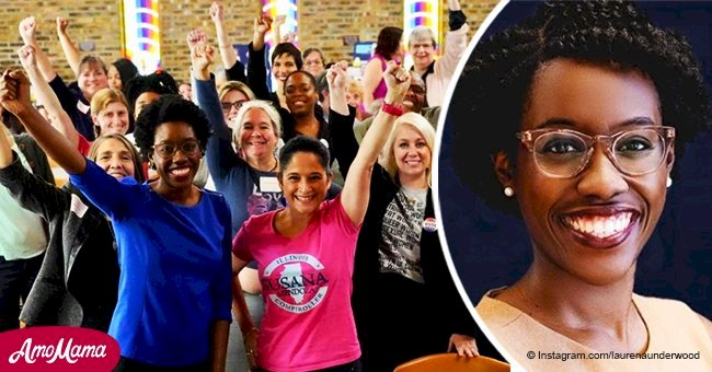 Lauren Underwood is the youngest ever black woman to serve in Congress