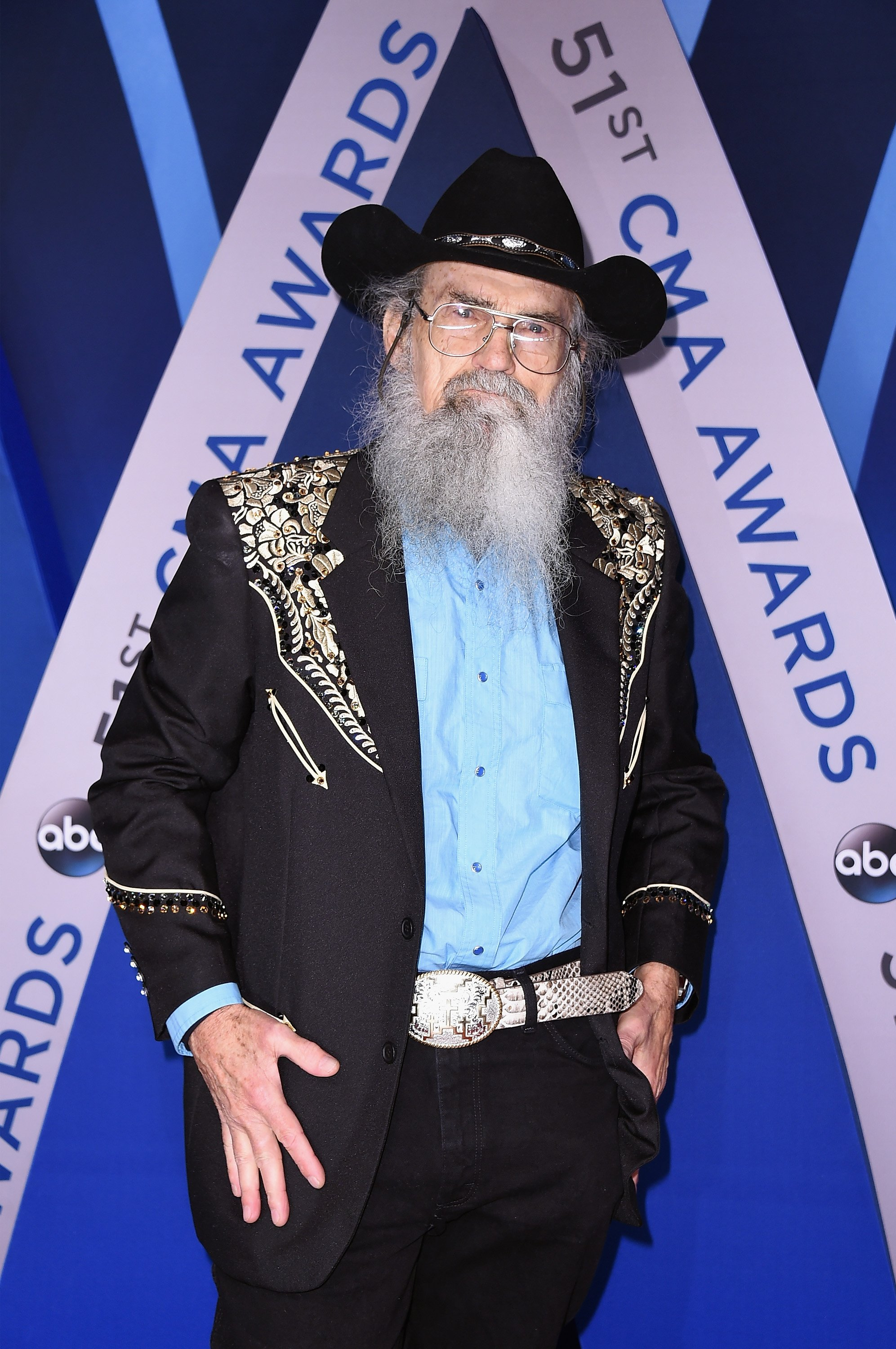 Si Robertson attends the 51st annual CMA Awards at the Bridgestone Arena on November 8, 2017 in Nashville, Tennessee. | Photo: GettyImages