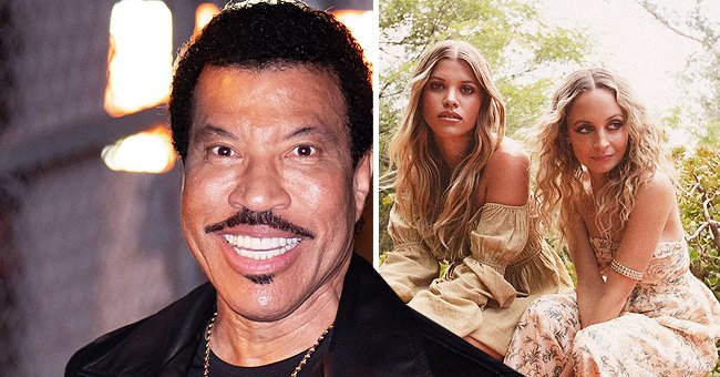 Lionel Richie's Two Daughters Flaunt Their Beauty in Floral Summer Dresses in New Photos