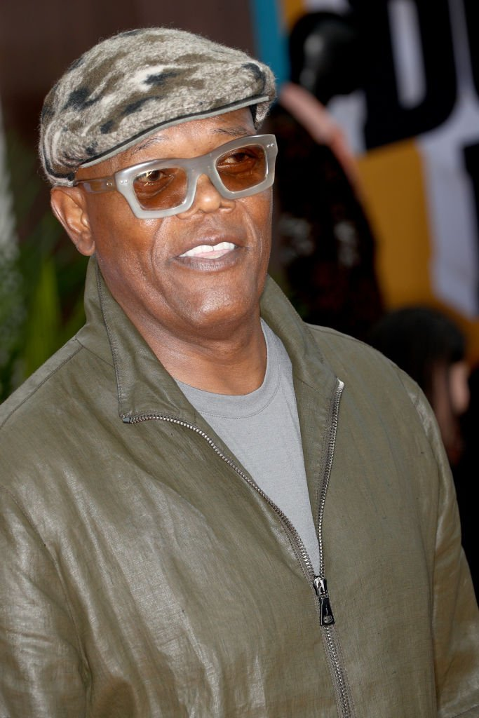 "Samuel L. Jackson attends the LA premiere of Netflix's ""Dolemite Is My Name"" at Regency Village Theatre 