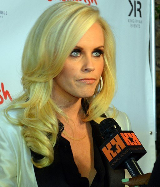Jenny McCarthy at the Fame at the Playboy Mansion Grammy Party 2012. | Source: Wikimedia Commons