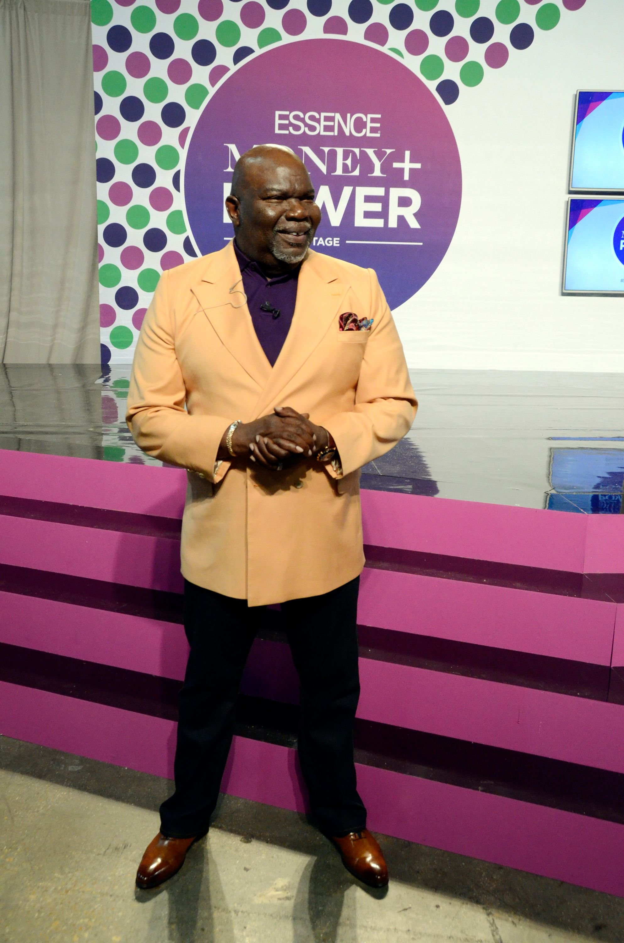 T.D. Jakes attends Day 2 of the 2016 Essence Festival in Louisiana.   Photo: Getty Images