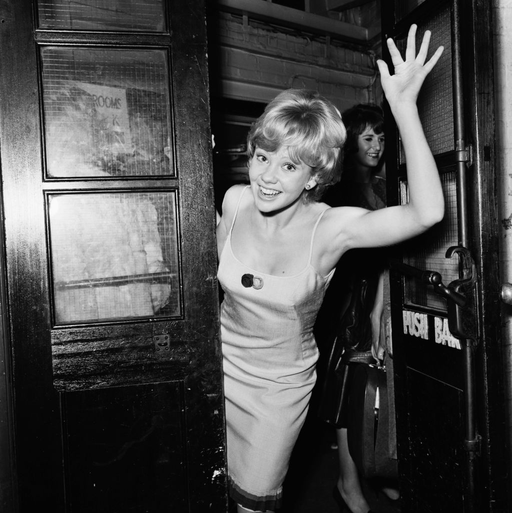 English actress Hayley Mills takes part in the 'Night of 100 Stars' at the London Palladium, 23rd July 1964. (Photo by Les Lee/Express/Getty Images)