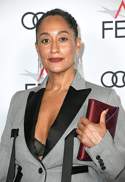Tracee Ellis Ross at the TCL Chinese Theatre on November 14, 2019 | Source: Getty Images/GlobalImagesUkraine