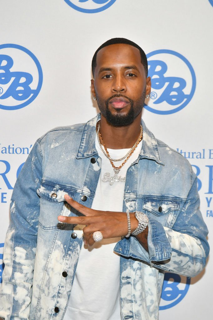 Safaree Samuels attends 2019 Bronner Brothers International Beauty Show at the Georgia World Congress Center | Photo: Getty Images