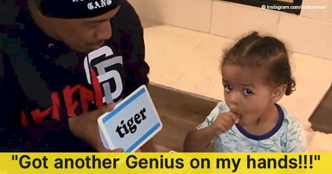 Nick Cannon melts hearts with new video of his 'brilliant' son Golden reading at the age of 1