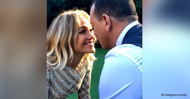 Jennifer Lopez celebrates 2nd anniversary with Alex Rodriguez by posting touching words