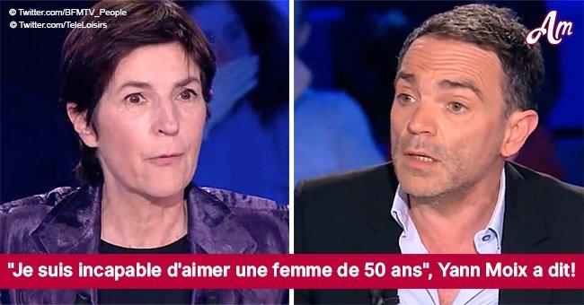 """Christine Angot claque Yann Moix en direct: """"Arrêtez de parler de nous"""" (Vidéo)"""