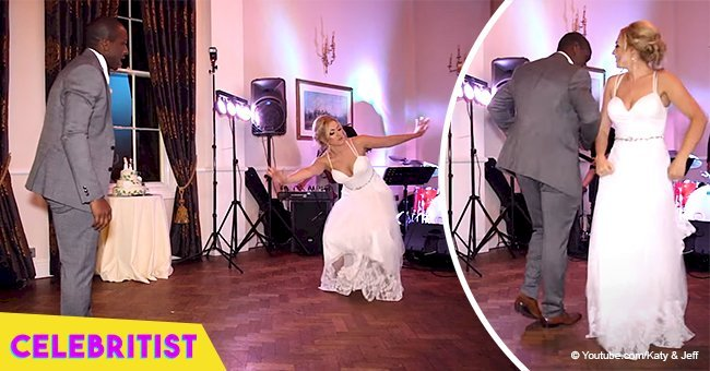 Bride stuns by performing African-influenced dance with her new husband in viral video