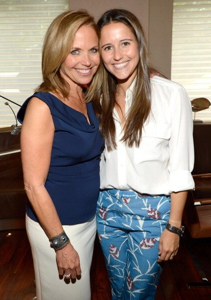 Katie Couric and Ellie Monahan attend Marie Claire's Women Taking The Lead Luncheon at Marea  | Photo: Getty Images