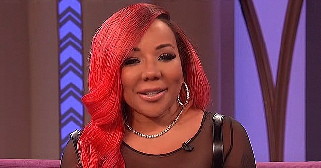 Tiny Harris Melts Hearts Showing Daughter Heiress Kissing & Singing for Granddaughter Hunter