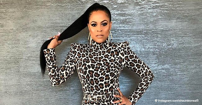 Shaunie O'Neal Turns Heads in Tight Leopard-Print Dress after Ex Shaq Kissed Her in Viral Video