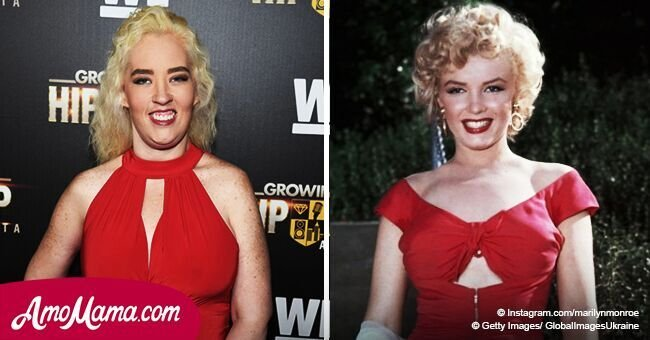 Mama June channels Marilyn Monroe after drastic weight loss in new photo she shares