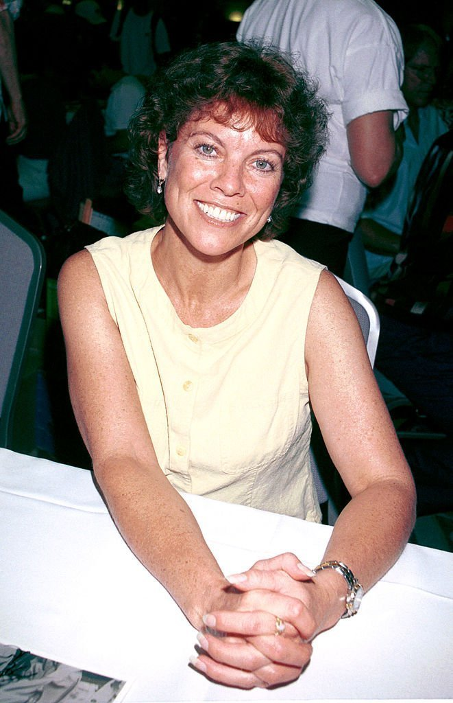 Erin Moran in North Hollywood, California on June 23, 2001 | Source: Getty Images