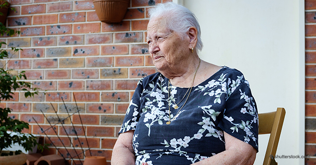 Cette vieille dame a reçu trois vœux de Marraine la bonne fée
