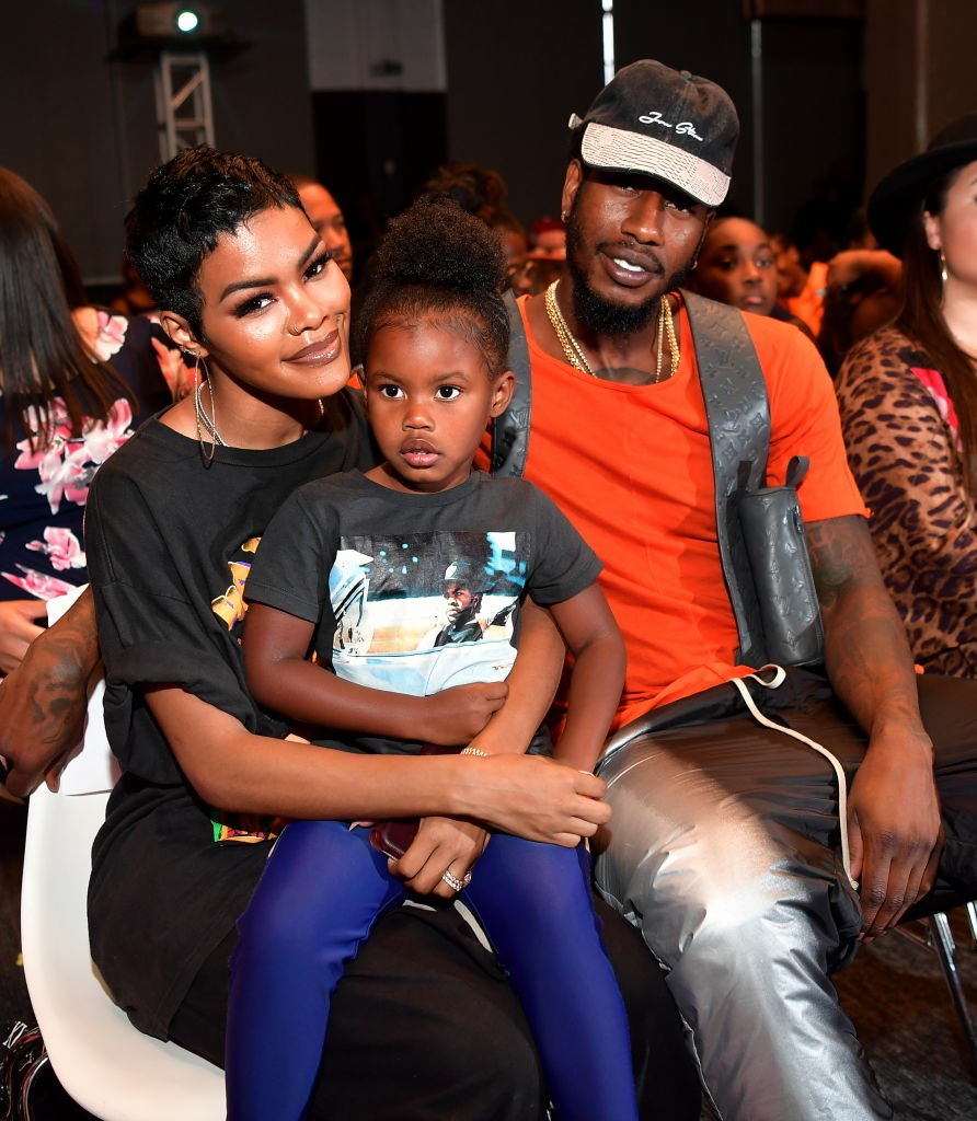 "Teyana Taylor, Iman Shumpert and Iman Tayla Shumpert Jr attend the screening of ""You Be There"" on August 11, 2019 