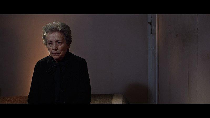 "Amparo Baró durante el rodaje del corto ""Eutanas, SA"". | Imagen: Wikipedia"