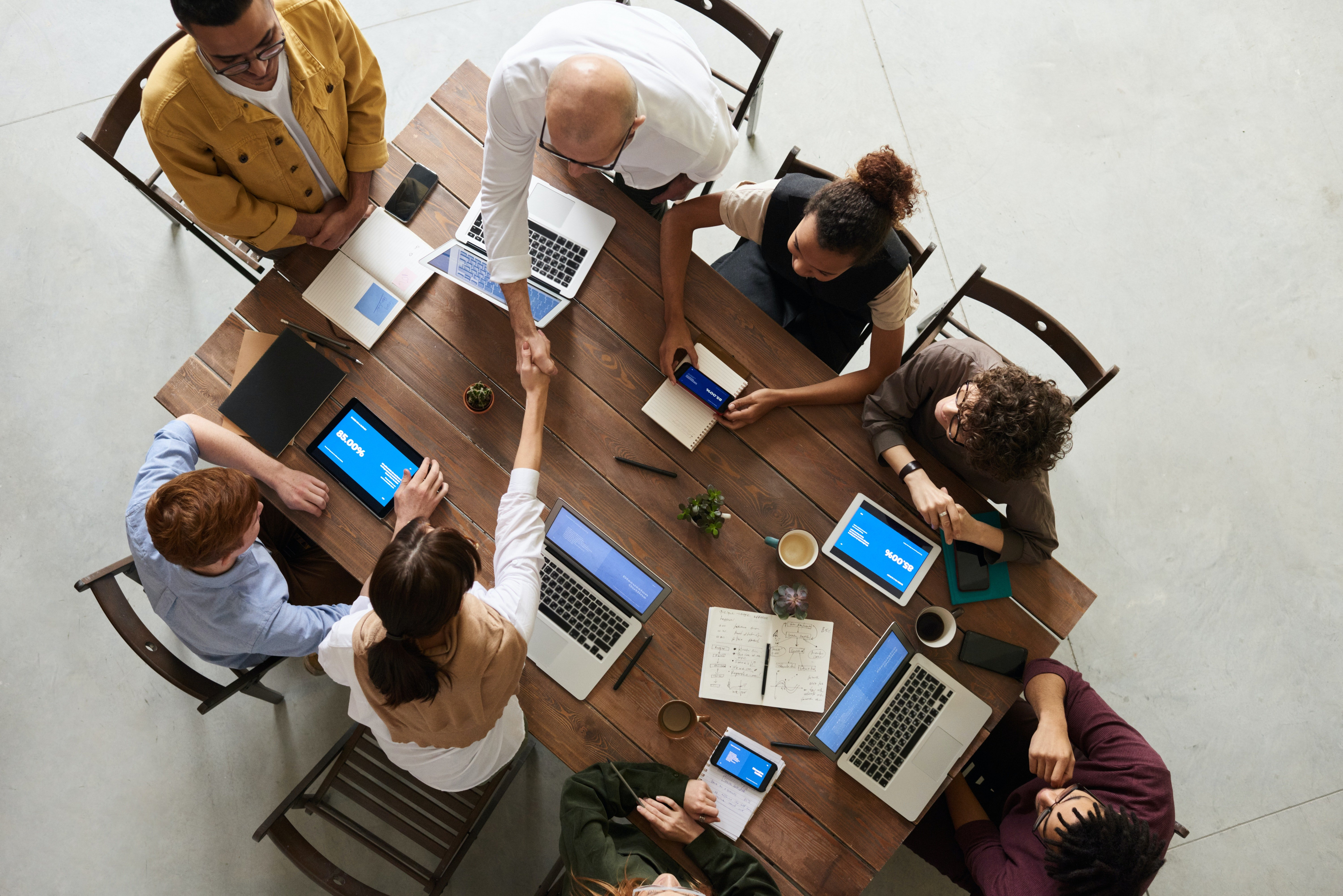 Pictured - An image of people in a meeting | Source: Pexels