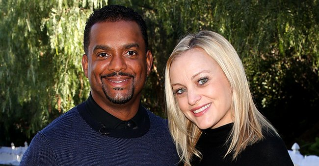 Alfonso Ribeiro's Daughter Ava Smiles Brightly as Her Grandma Holds Her in a Photo