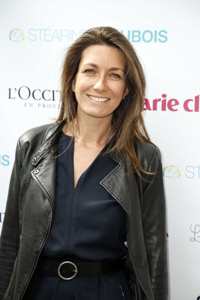 "Anne-Claire Coudray attend ""La Flamme Marie-Claire : Tous à l'école"" à l'Hôtel France-Amérique le 7 juin 2017 à Paris, France. 