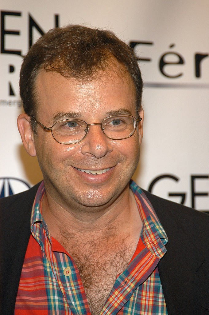 Rick Moranis attends the Olympus Fashion Week Spring 2005 at the Manhattan Center in New York City on September 10, 2004.   Photo: Getty Images
