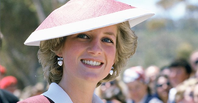 Diana Princess of Wales during a visit to Italy on April 28, 1985  | Photo: Getty Images