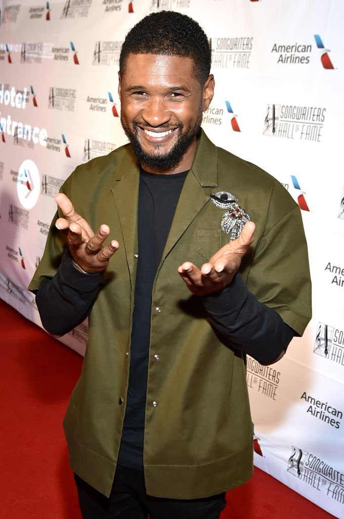 Usher attends the Songwriters Hall of Fame 49th Annual Induction and Awards Dinner at New York Marriott Marquis Hotel on June 14, 2018   Photo: Getty Images