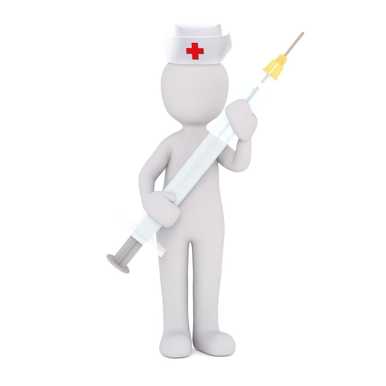 Krankenschwester-Figur - Quelle: Pixabay