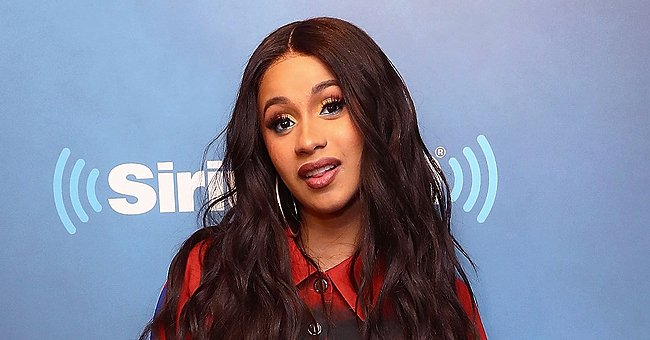Cardi B's Daughter Kulture Rides a Toy Horse in Their Awesomely Decorated House