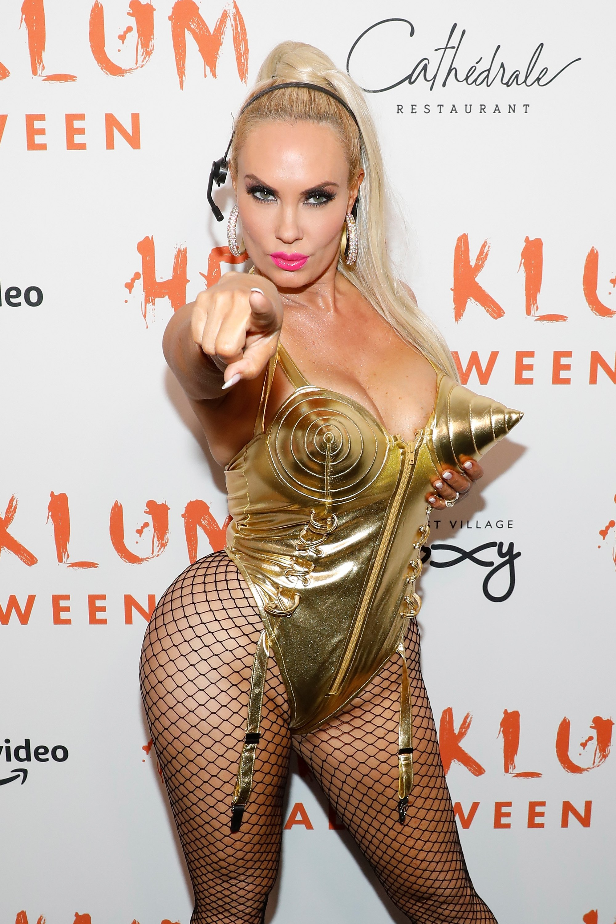 Coco Austin attends Heidi Klum's Annual Hallowe'en Party at Cathedrale on October 31, 2019 |Photo: Getty Images