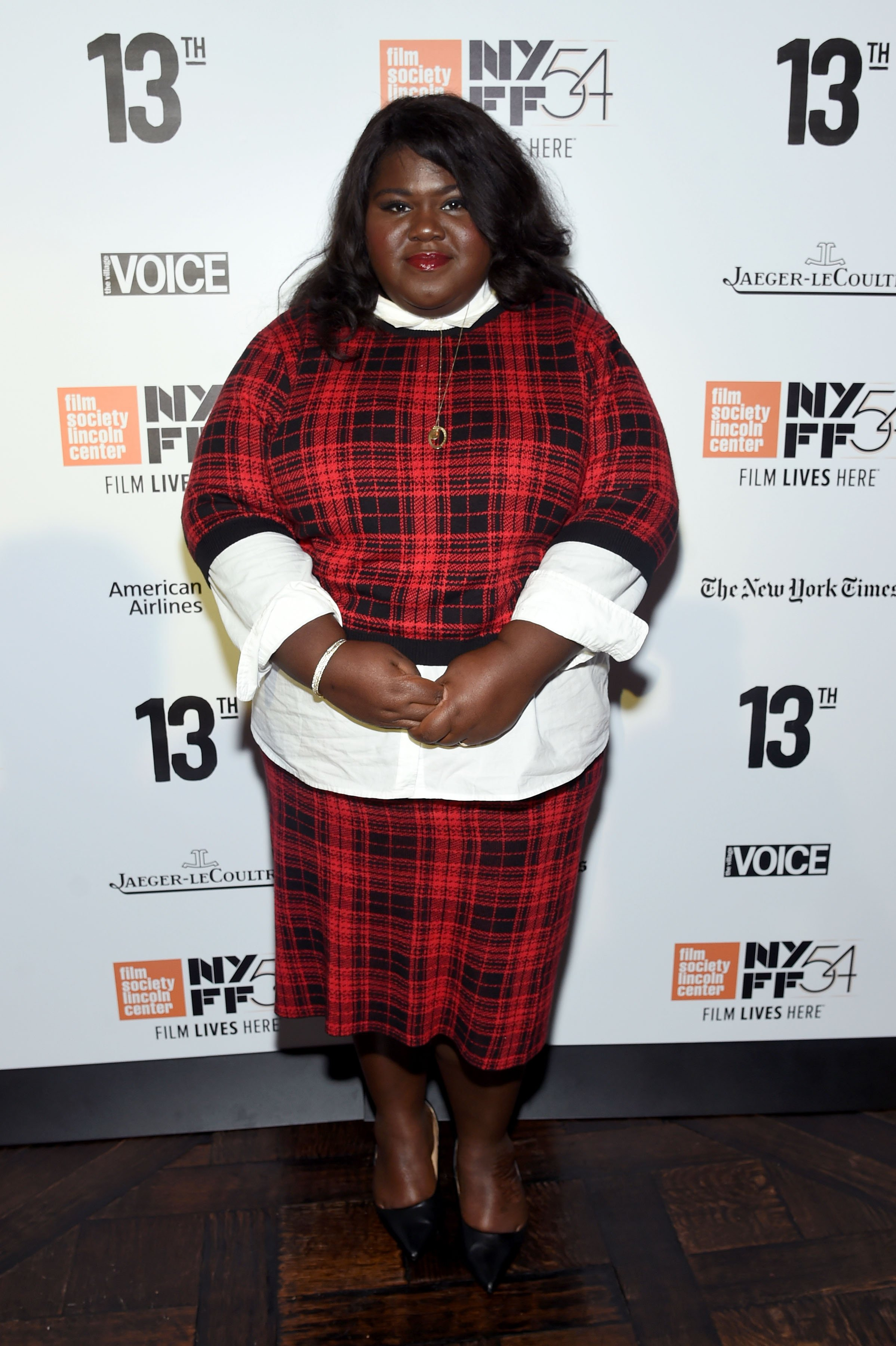 Gabourey Sidibe at the New York Film Festival Opening Night Party on Sept. 30, 2016 in New York City | Photo: Getty Images