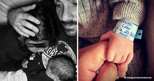 """""""Bonne journée à tous"""" : Laurent Ournac a partagé, pour la première fois, une jolie photo avec son adorable fils"""