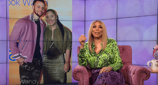 "Wendy Williams during May 9 taping of ""The Wendy Williams Show."" 