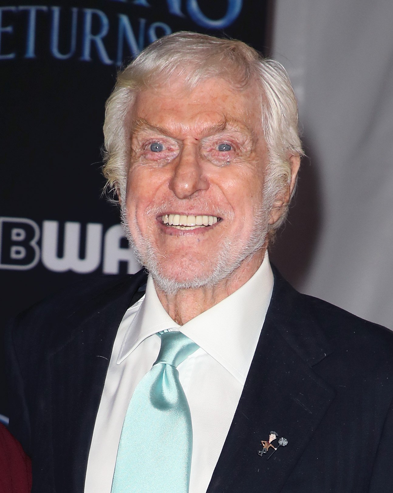 "Dick Van Dyke attends the premiere of ""Mary Poppins Returns"" in Los Angeles, California on November 29, 2018 