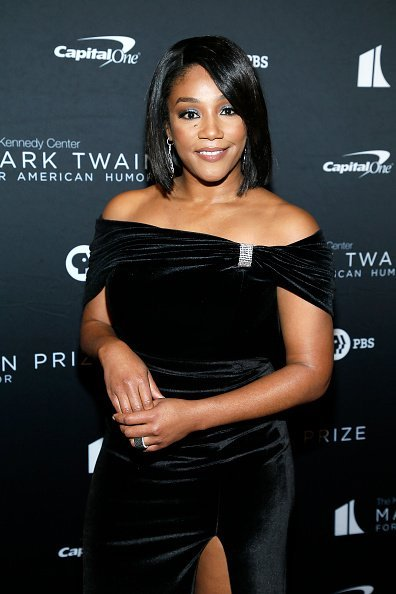 Tiffany Haddish at the 22nd Annual Mark Twain Prize for American Humor on October 27, 2019 | Photo: Getty Images