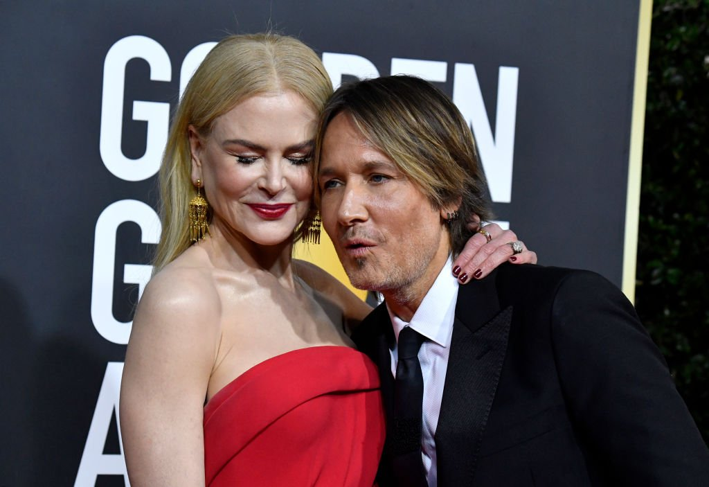 Nicole Kidman and Keith Urban attend the 77th Annual Golden Globe Awards, January 2020   Source: Getty Images