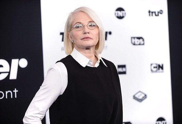 Ellen Barkin at the 2017 Turner Upfront in New York City.| Photo: Getty images.