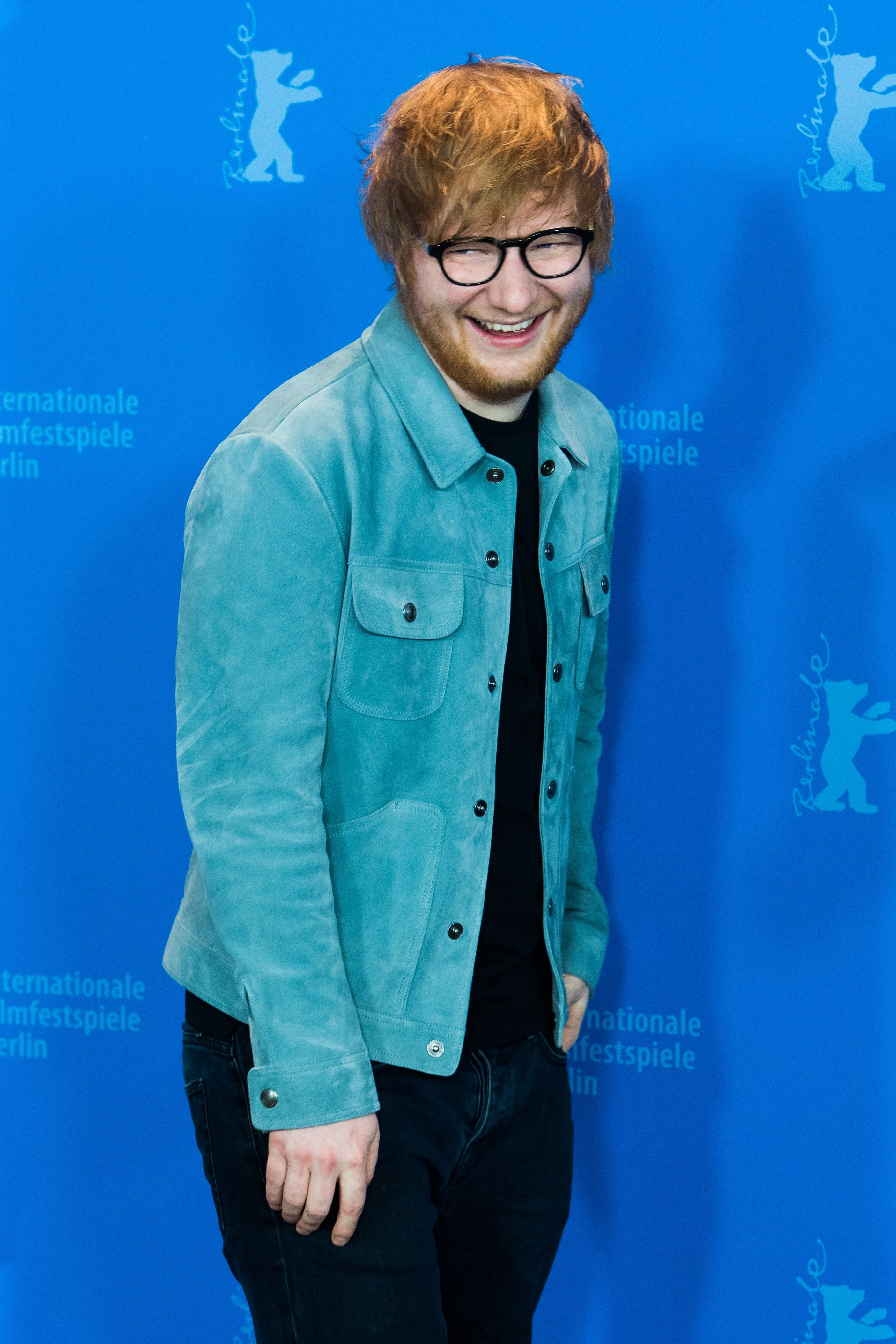 Ed Sheeran poses at the 'Songwriter' photo call during the 68th Berlinale International Film Festival Berlin at Grand Hyatt Hotel on February 23, 2018 in Berlin, Germany. | Source: Getty Images