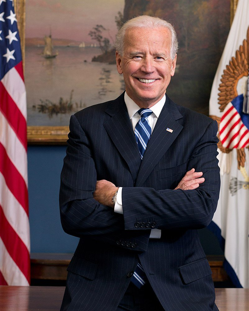 Official Portrait of Joe Biden as the United States Vice President in the West Wing Office at the White House | Photo: David Lienemann/Wikimedia Commons