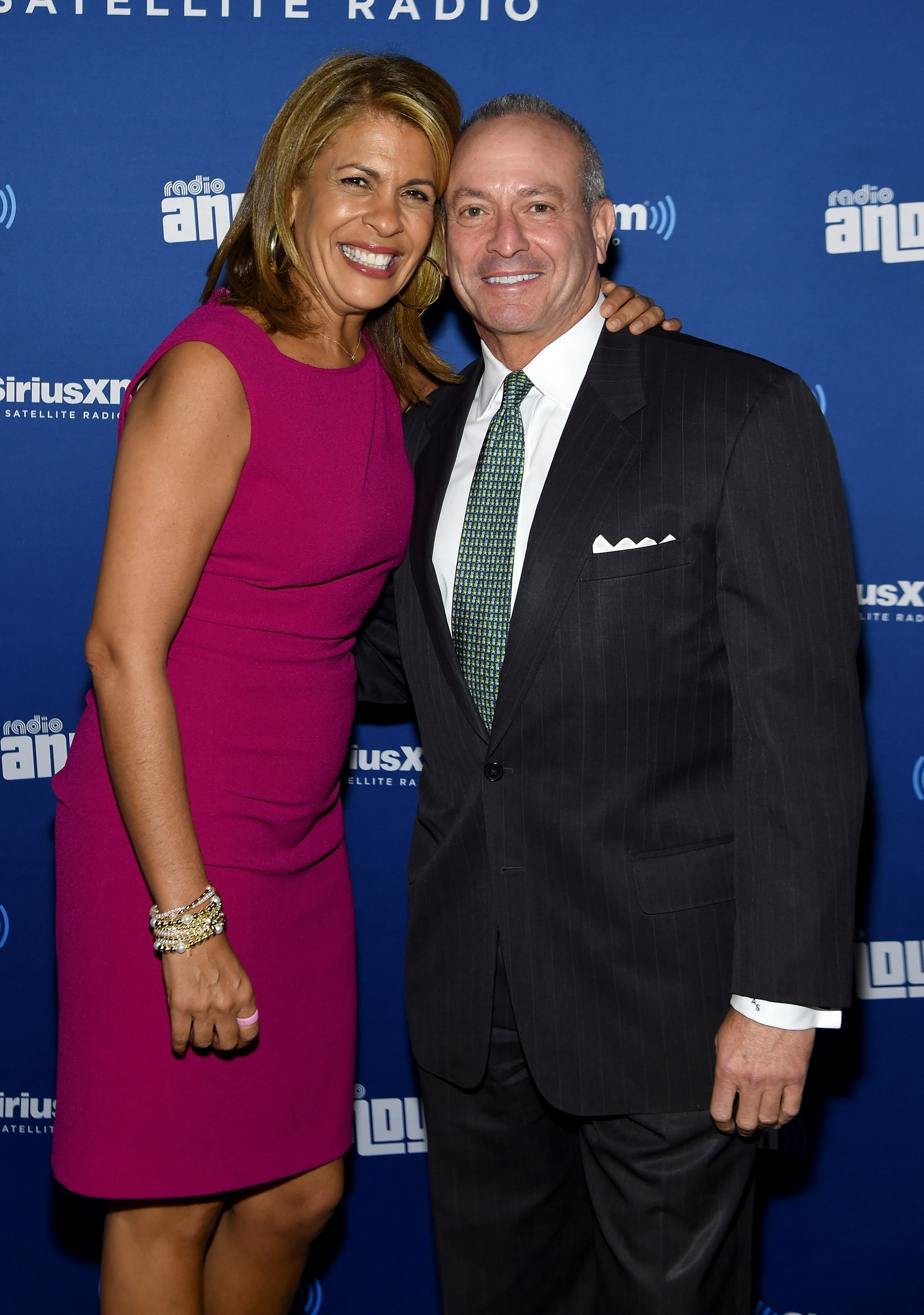 Hoda Kotb and Joel Schiffman at the new SiriusXM Channel launch on October 22, 2015. | Source: Getty Images