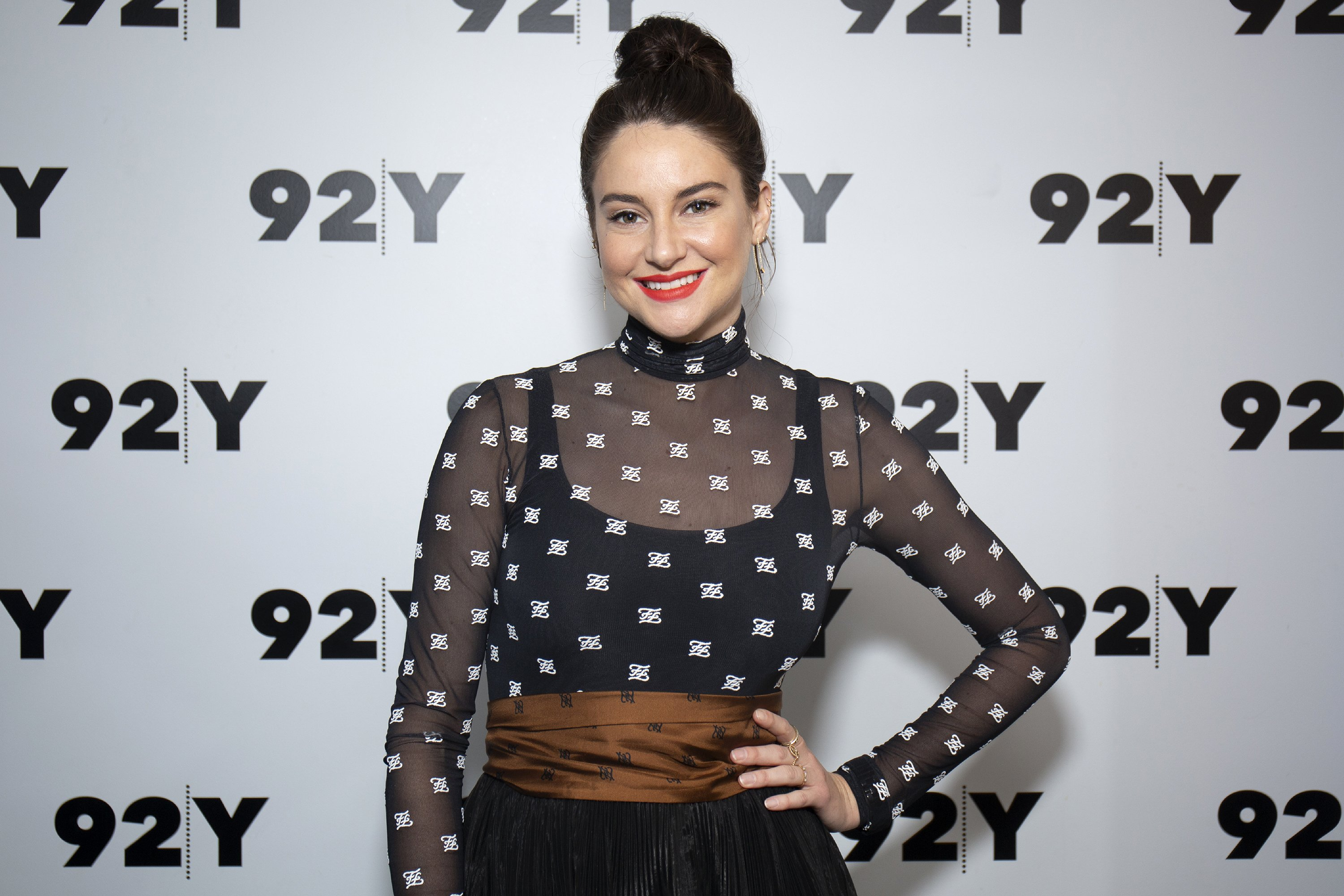 """Shailene Woodley attends 'In Conversation with Glamour's Samantha Barry: """"Big Little Lies"""" at 92nd Street Y on June 10, 2019 in New York City 