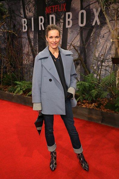 "Lisa Martinek, Europa-Premiere ""Bird Box"", Berlin, 2018 | Quelle: Getty Images"