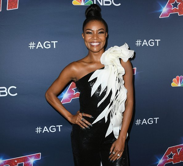 """Gabrielle Union at """"America's Got Talent"""" Season 14 Live Show Red Carpet in Hollywood, California.