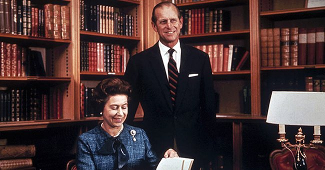 Throwback Photo of Queen Elizabeth and Prince Philip Released after News about His Surgery