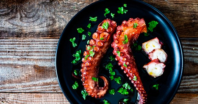 """""""Oh, when will I get to enjoy my favorite seafood?"""" 
