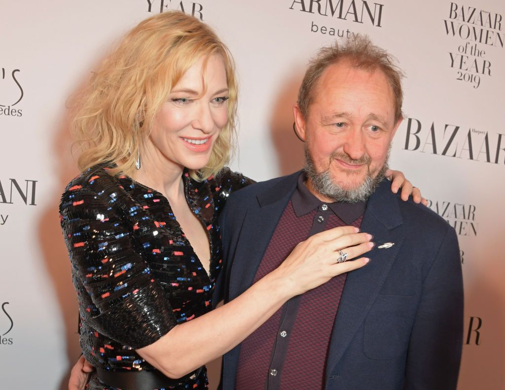 Cate Blanchett and Andrew Upton at the Harper's Bazaar Women of the Year Awards 2019in London, England | Source: Getty Images