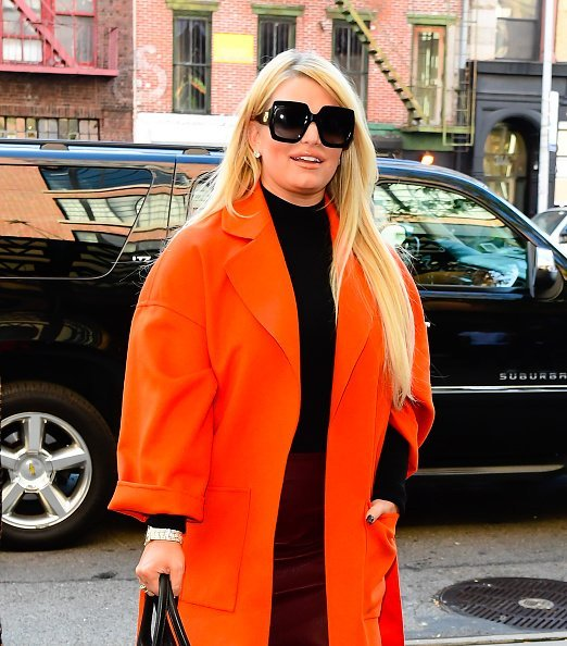 Actress Jessica Simpson at a hotel in SoHo on September 25, 2019 in New York City.| Photo:Getty Images