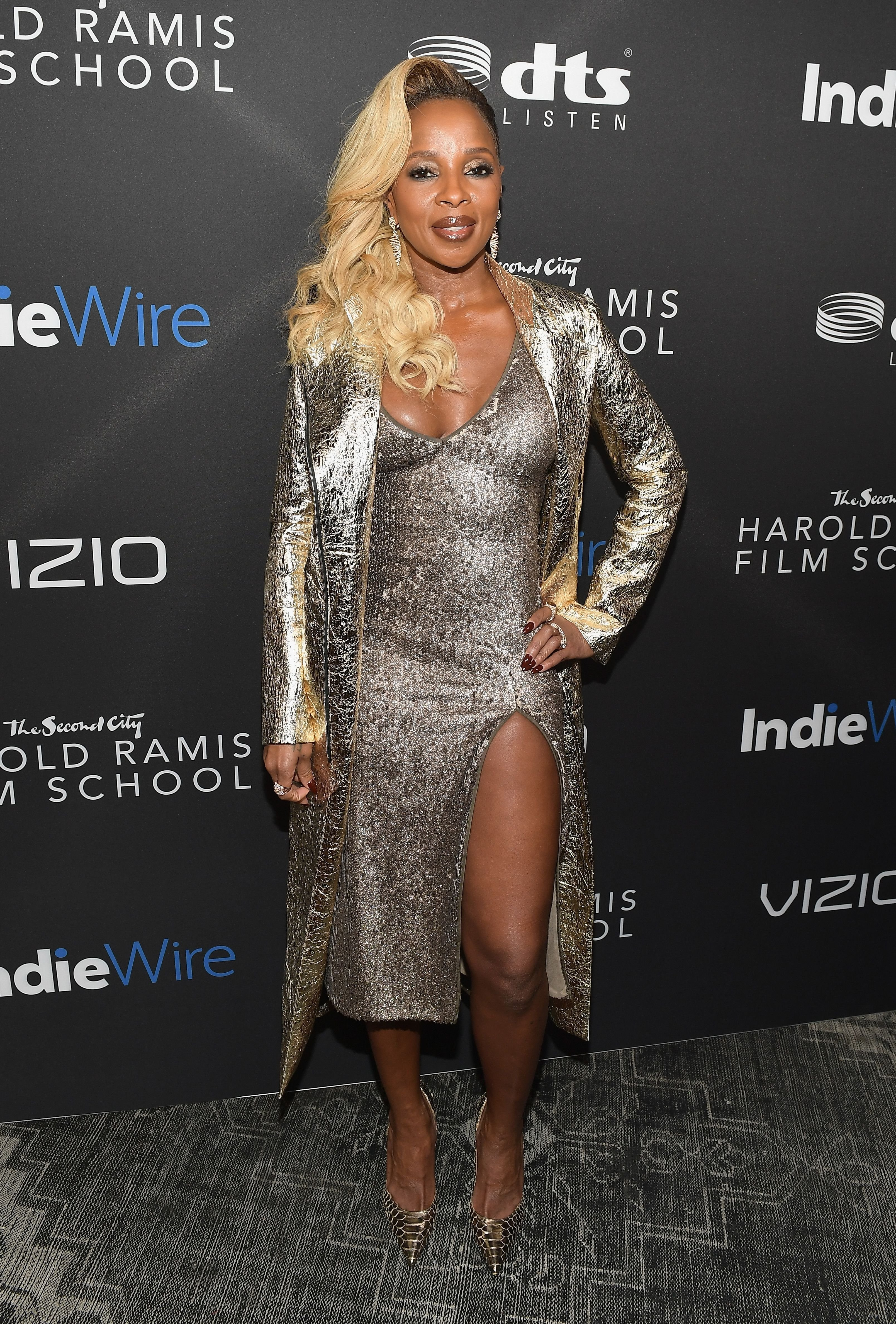 Singer Mary J. Blige attending the Inaugural IndieWire Honors in California in November 2017. | Photo: Getty Images