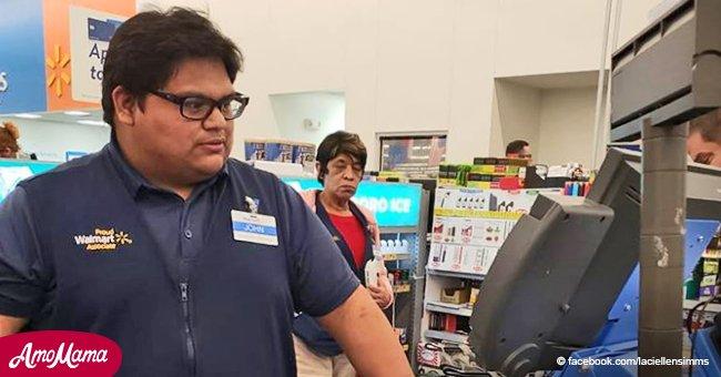 Ein junger Kassierer, der die Einkäufe einer älteren armen Frau bezahlt hatte, bekam dafür 36.000 Dollar